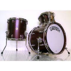 "Gretsch Broadkaster 18"" 3-Piece Drum Shell Pack - Satin Walnut - Main"