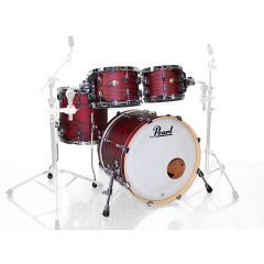 """Pearl Session Studio Select 20"""" 4-Piece Drum Shell Pack - Scarlet Ash - Main"""