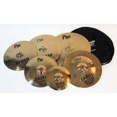 Second Hand Sabian Pro/ProSonix Cymbal Set