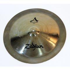 "Second Hand Zildjian A Custom 18"" China Cymbal"