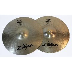 "Second Hand Zildjian 14"" Z Custom Mastersound Hi Hat Cymbals"