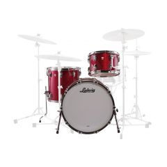 """Ludwig Classic Maple FAB 20"""" 3-Piece Shell Pack - Red Sparkle"""