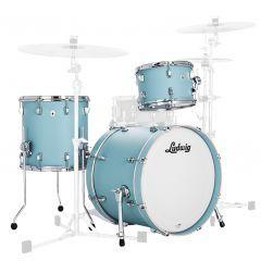 "Ludwig NeuSonic 20"" 3-Piece Shell Pack - Skyline Blue - Main"