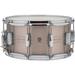 """Ludwig Heirloom 14 x 7"""" Stainless Steel Snare Drum"""