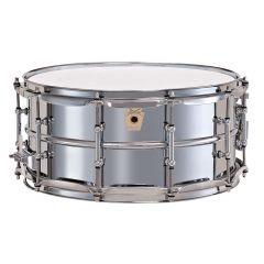 "Ludwig Supraphonic Tube Lug 14 x 6.5"" Aluminium Snare Drum - 10 Lug - Main"