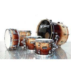 Odery Eyedentity Maple Short Drum Kit - Mappa Burl