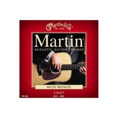 Martin Bronze Acoustic Strings Light