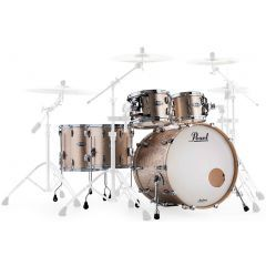 """Pearl Masters Maple Complete 22"""" 5-Piece Shell Pack - Bright Champagne Sparkle - Main"""