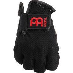 Meinl Drummer Fingerless Gloves - Large (Black)