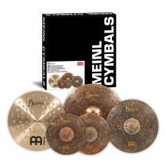 """Meinl Byzance Mike Johnston Cymbal Pack With Free Byzance 18"""" Extra Dry Thin Crash - Main"""