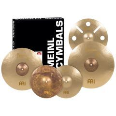 """Meinl Byzance Vintage Benny Greb Sand Series Cymbal Pack with Free 16"""" Trash Crash - Main"""