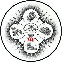 "Meinl 12"" Masterpad Benny Greb Design"