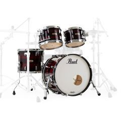 Pearl Masters Maple Reserve 4-Piece Shell Pack - Red Burst Triband