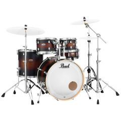 Pearl Decade Maple 5-Piece Kit Including Snare & Hardware - Satin Brown Burst