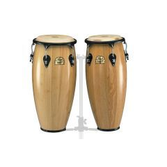 """Pearl Primero 10""""/11"""" Wood Congas in Natural finish"""