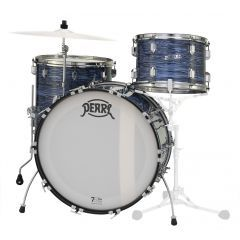 """Pearl 75th Anniversary President Deluxe 20"""" 3-Piece Drum Shell Pack - Ocean Ripple Wrap - Main"""