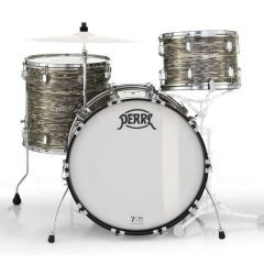 """Pearl 75th Anniversary President Deluxe 22"""" 3-Piece Drum Shell Pack - Desert Ripple Wrap - Main"""