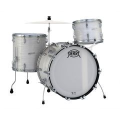 """Pearl 75th Anniversary President Phenolic 22"""" 3-Piece Shell Pack - Pearl White Oyster - Main"""