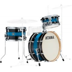 """Tama Superstar Classic Neo Mod 20"""" 3-Piece Drum shell Pack - Mod Blue Duco"""