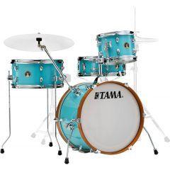 """Tama Club Jam 18"""" 4-Piece Drum Shell Pack Including Snare - Aqua Blue"""