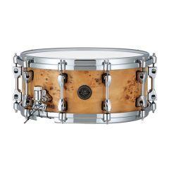 "Tama Starphonic 14 x 6"" Maple Snare Drum - Mapa Burl Finish"