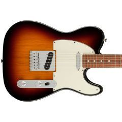 Pre-Owned Fender Player Telecaster PF Electric Guitar - 3 Colour Sunburst