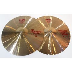 """Pro-Owned Paiste 2002 14"""" Sound Edge Hi Hat Cymbals"""