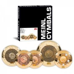 Meinl Byzance Dual Cymbal Pack With Free Set Of Sticks - Main