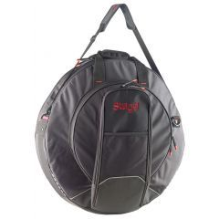 """Stagg 22"""" Pro Cymbal Bag With Back Straps - Main"""