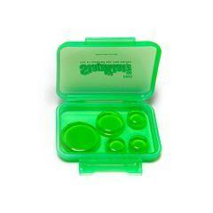 Slapklatz Drum Damper Pro Pack - Green (Pack Of 10)