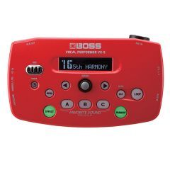 Boss VE-5 Vocal Processor - Red