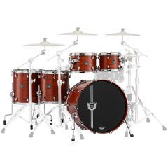 Mapex 30th Anniversary Limited Edition 5-Piece Maple Shell Set - Garnet Flame