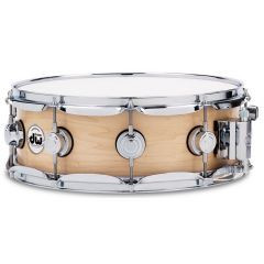"""DW Collector's 14 x 5"""" Maple Snare Drum - Natural Satin Oil  - Main"""