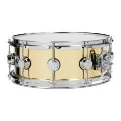 """DW Collector's 14 x 6.5"""" Bell Brass Snare Drum"""