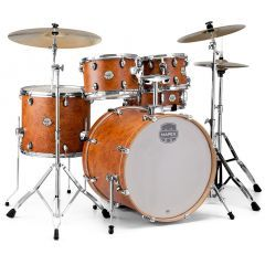 """Mapex Storm 22"""" 5-pc Drum Kit Including Hardware And Paiste 101 Cymbal Pack - Camphor Wood Grain - Main"""