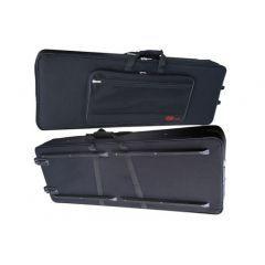 Stagg KTC-128 Keyboard Case with Wheels 124.5 x 43 x 14cm