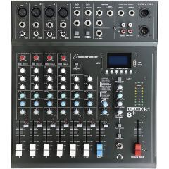 Studiomaster Club XS 8+ Compact 8-Channel Mixing Console