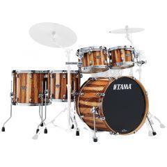 "Tama Starclassic Performer Maple/Birch 20"" 5-Piece Drum Shell Pack - Caramel Aurora - Main"