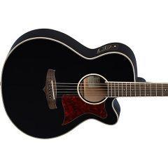 Tanglewood TW4 BK Winterleaf Series Spruce Electro Acoustic Guitar - Black Gloss