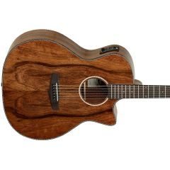 Tanglewood TVC X PW Folk Cutaway Exotic Pacific Walnut Electro Acoustic Guitar