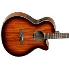 Tanglewood Winterleaf Solid Top Cutaway Electro-Acoustic Guitar TW4 KOA