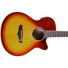 Tanglewood TW4 SB Winterleaf Super Folk Cutaway Electro-Acoustic Guitar - Sunburst