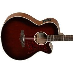 Tanglewood TW4 WB Winterleaf Series Spruce Electro Acoustic Guitar - Whiskey Barrel Gloss