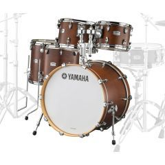 "Yamaha Tour Custom 22"" 5-Piece Drum Shell Pack - Chocolate Satin - Main"