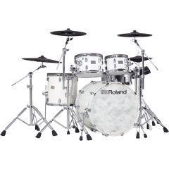 Roland VAD706 V-Drums Acoustic Design Kit - Pearl White Premium Finish -Main