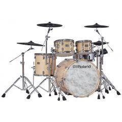 Roland VAD706 V-Drums Acoustic Design Kit - Gloss Natural Premium Finish - Main