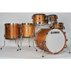 """Yamaha Absolute Maple Hybrid 20"""" 6-Piece Drum Shell Pack Including Snare - Vintage Natural - Main"""