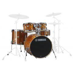 "Yamaha Stage Custom 20"" 5-piece Drum Shell Pack Including Hardware - Honey Amber  - Main"