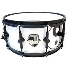 "Odery Custom 14 x 6.5"" 24-Ply Araucaria & Teak Snare Drum - Yin and Yang"