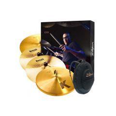 Zildjian K Series Cymbal Box Set with FREE 17 Inch Crash - KP100